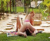 Ava Sparxxx and Veronika Hot Outdoor Lesbian Sex from veronika babko sex depika