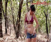 Mia Marin Fucked in the forest hardcore latina porn sexmex from sexmex
