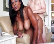 Black Mama Gets her White Choc. from www xxxzzz 3ex choc