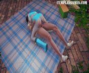 Heroine Enjoys Multiple Orgasms with Exhausting Sex - Honey Select 2 from singam puli heroine ramya sex