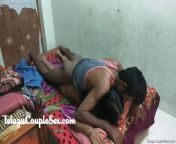 Telugu Couple is Full Hard Sex In Home Working on it for Sex from indian village home lady 30 age fucking sex