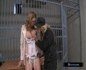 Two hot lesbian girls having fun in prison from prissou