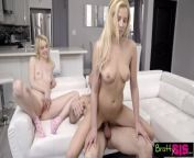 teen sisters give step daddy ultimate father's day threesome from animal sexgoatgarlfuq